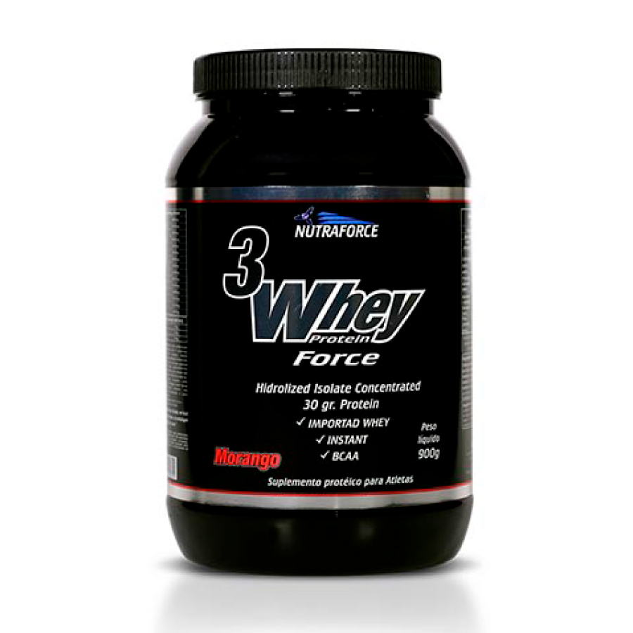 3 Whey Protein Force 900gr - Nutraforce