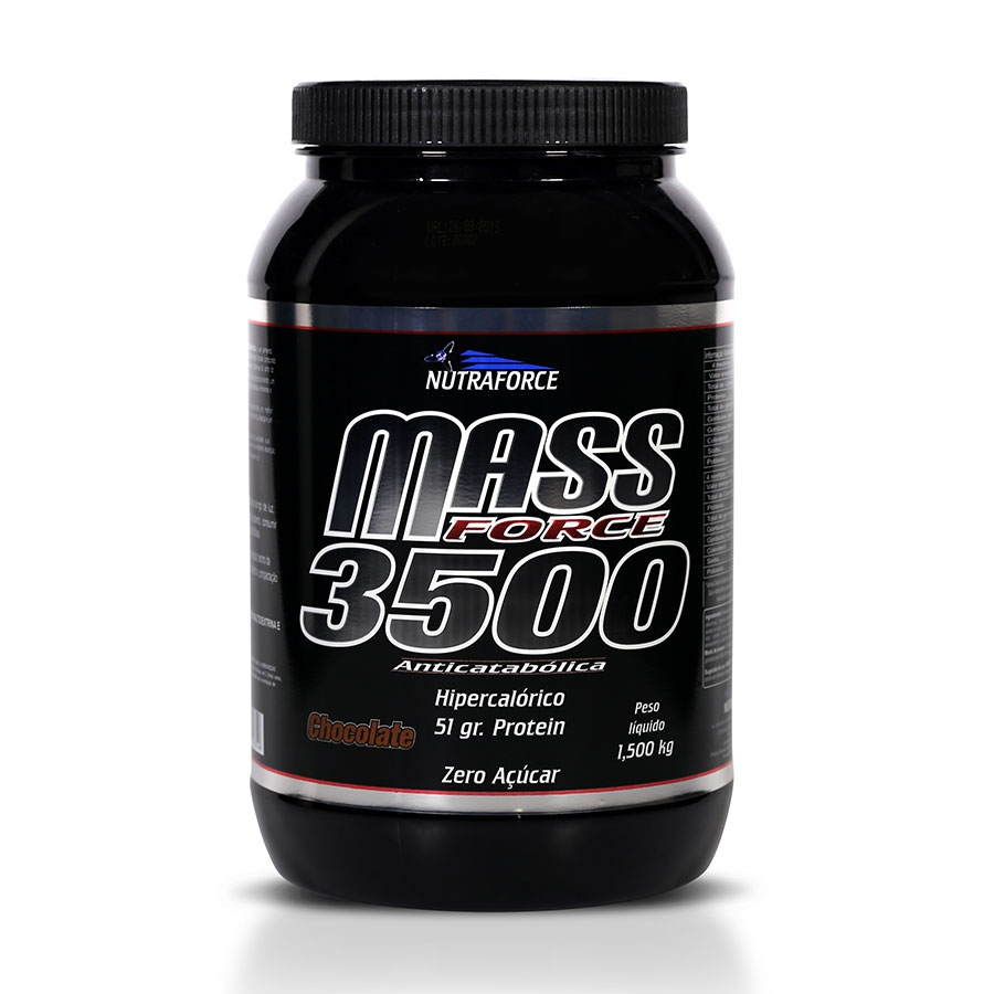 Mass Fort 3500 Hipercalórico 1,5kg - Nutraforce