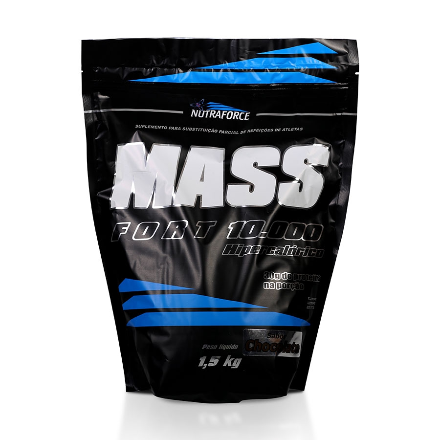 Mass Fort 10000 Hipercalórico 1,5kg - Nutraforce