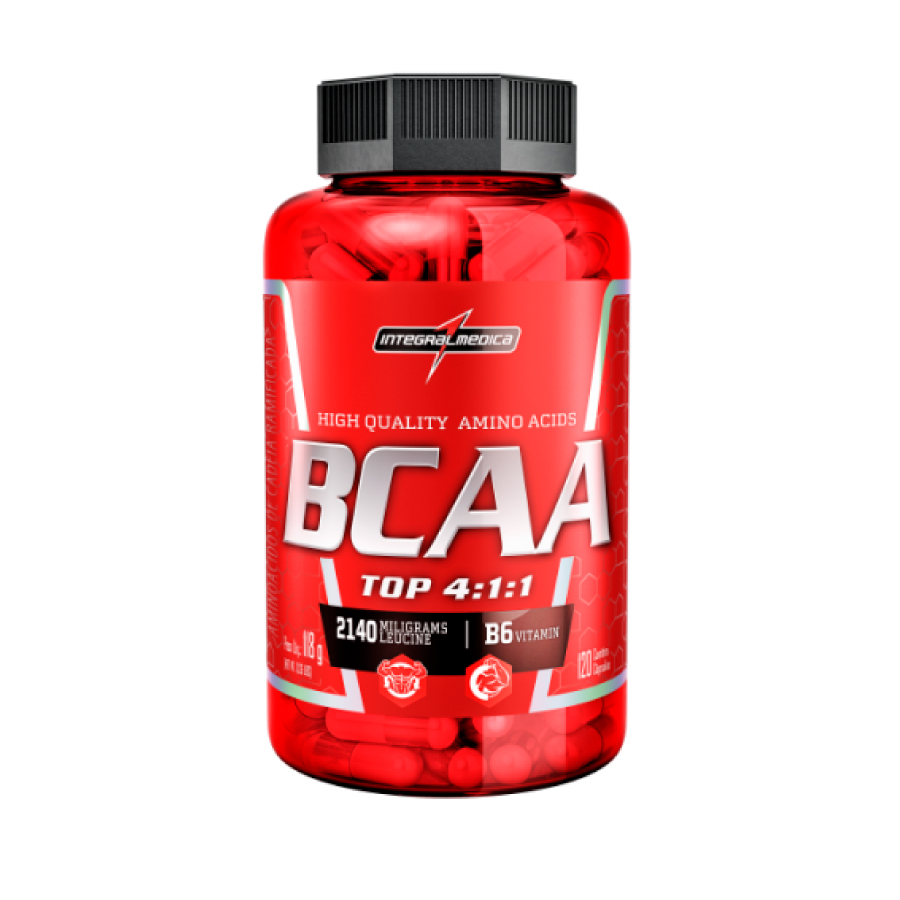 Bcaa Top (120 cáp) - Integralmédica