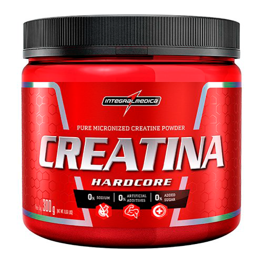 Creatina Hardcore Reload 300g - Integralmédica