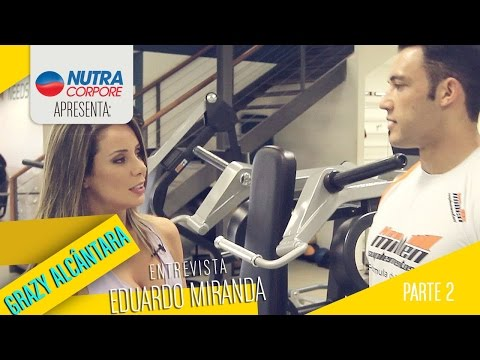 Grazy Alcântara mostra o treino de Eduardo Miranda – Parte 2 – Costas