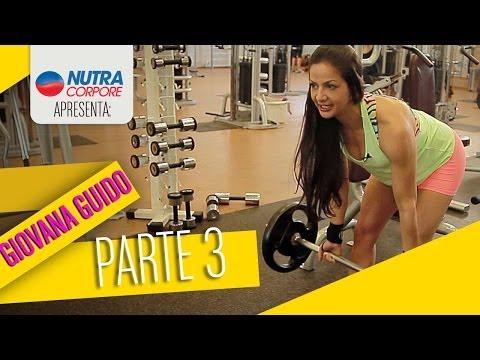 Preparação da Atleta Bikini Giovana Guido – Parte 3 – Costas