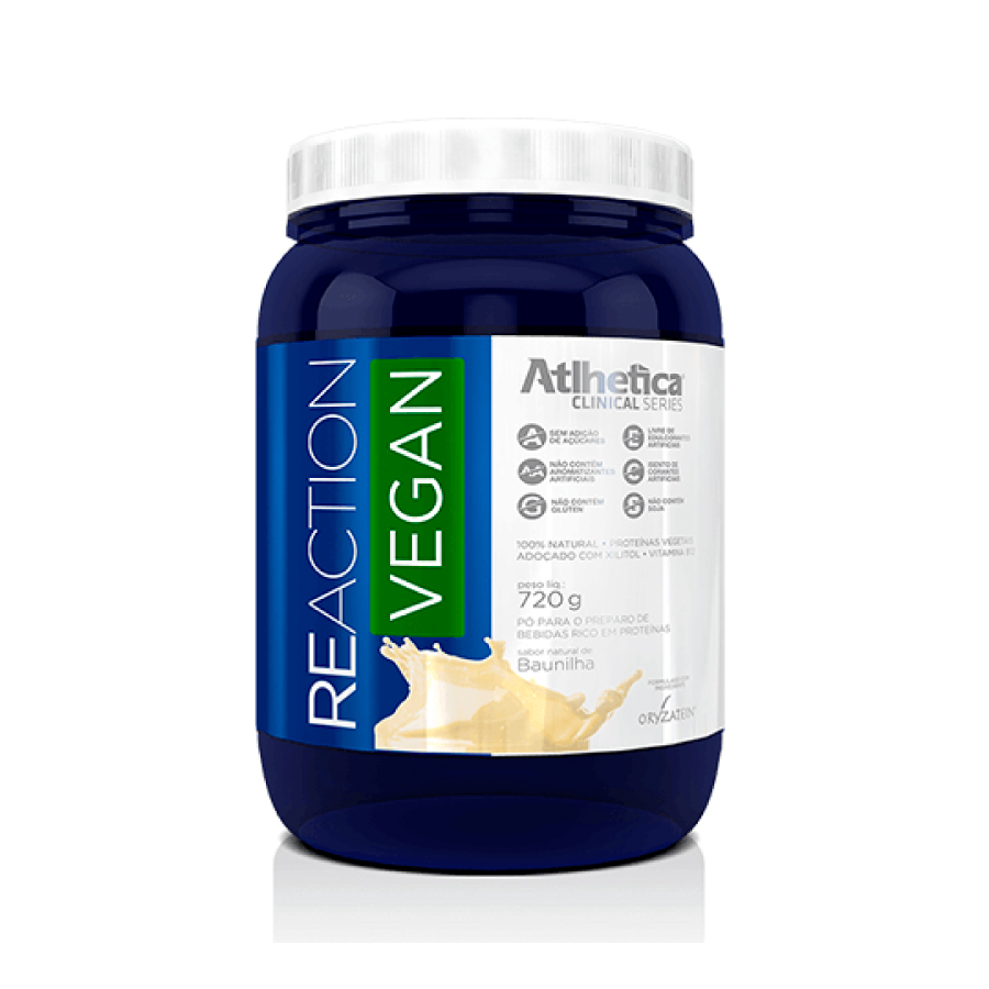 Reaction Vegan 720g - Atlhetica Nutrition