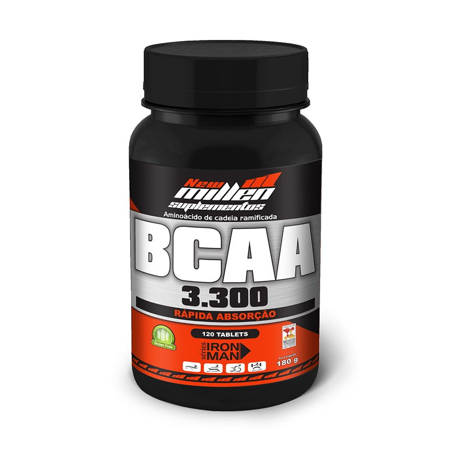 Bcaa 3300 120 tabletes - New Millen