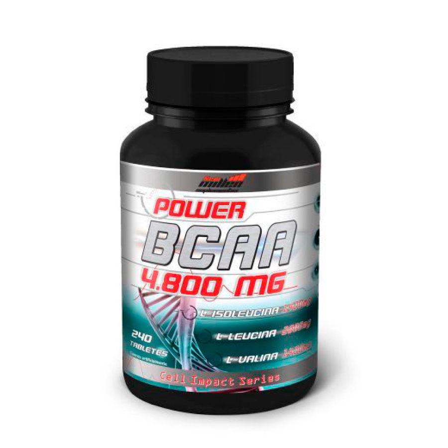 Bcaa 4800mg 240 tabletes- New Millen