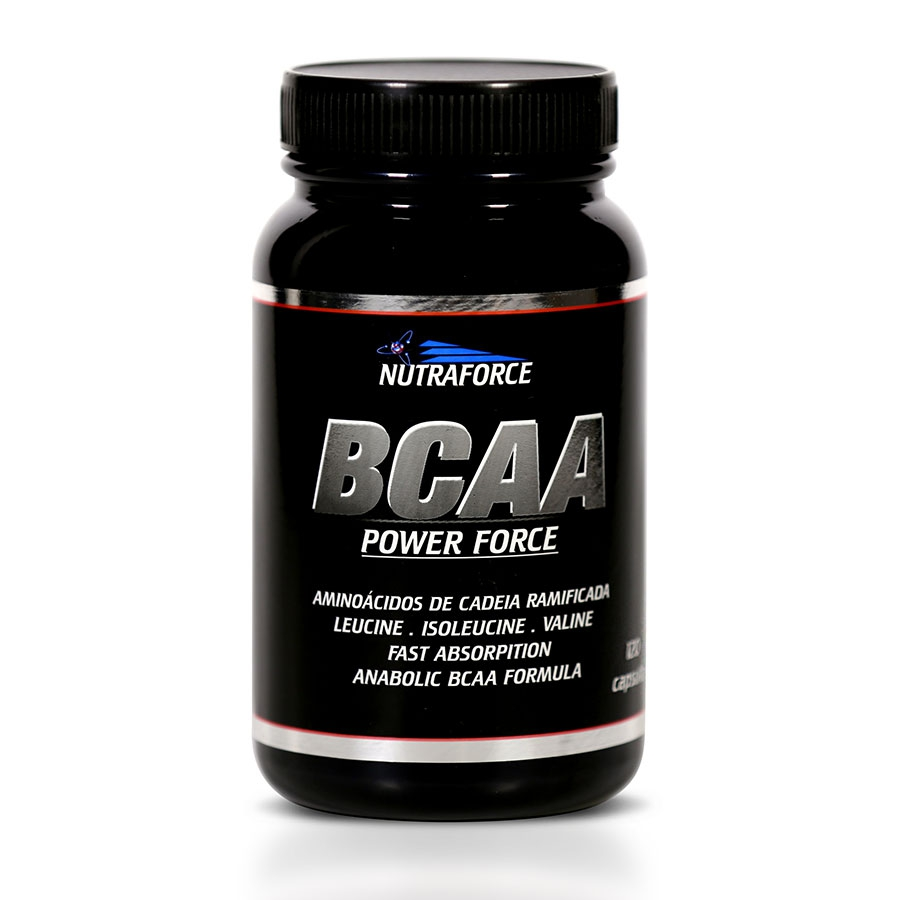 Bcaa Power Force 120 cápsulas - Nutraforce