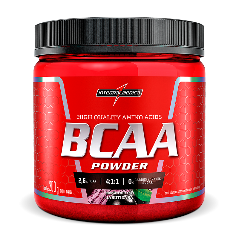 Bcaa Powder 4:1:1 200g - Integralmedica