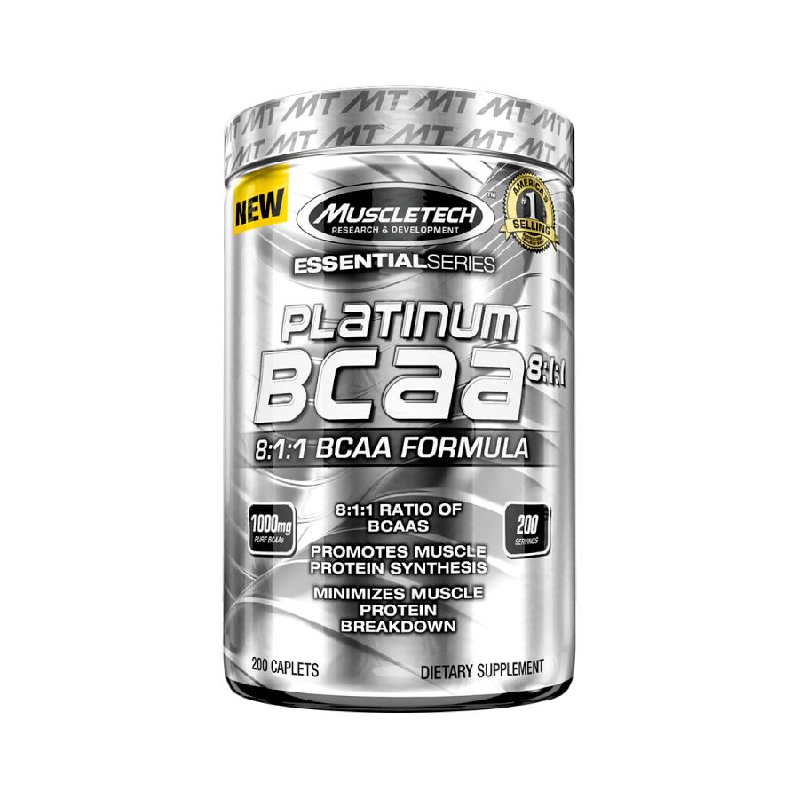 Bcaa Platinum 8:1:1 200 cápsulas - Muscletech