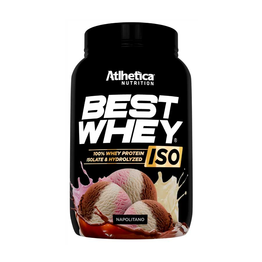 f09dcb6a9 Best Whey ISO 900g - 100% Isolate e Hydrolyzed - Atlhetica Nutrition -  Nutracorpore