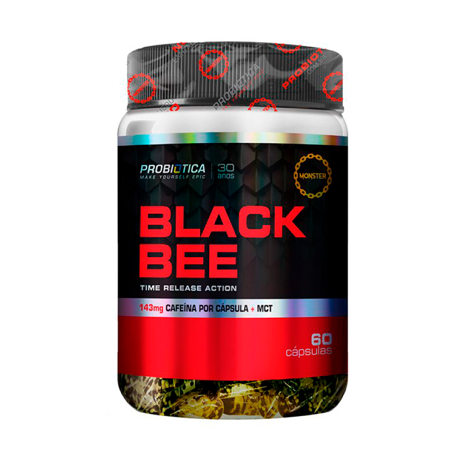 Black Bee 60 cápsulas - Probiótica