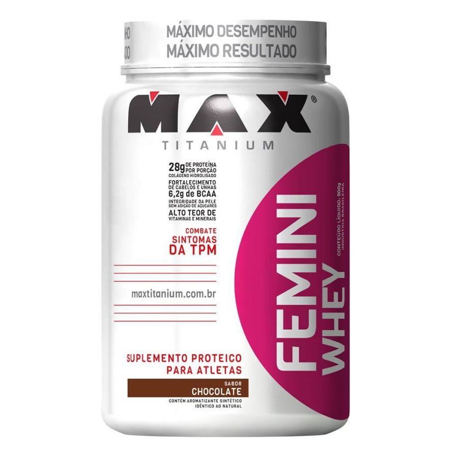 Femini Whey Protein (900g) - Max Titanium