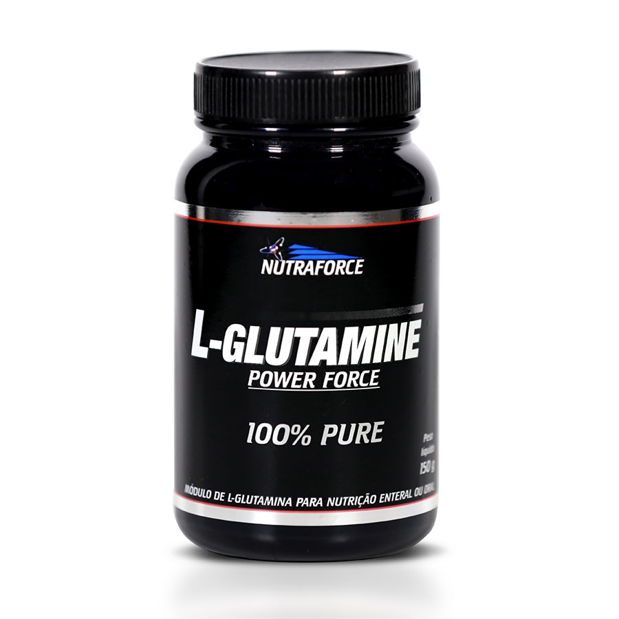 Glutamina Pura 150g - Nutraforce