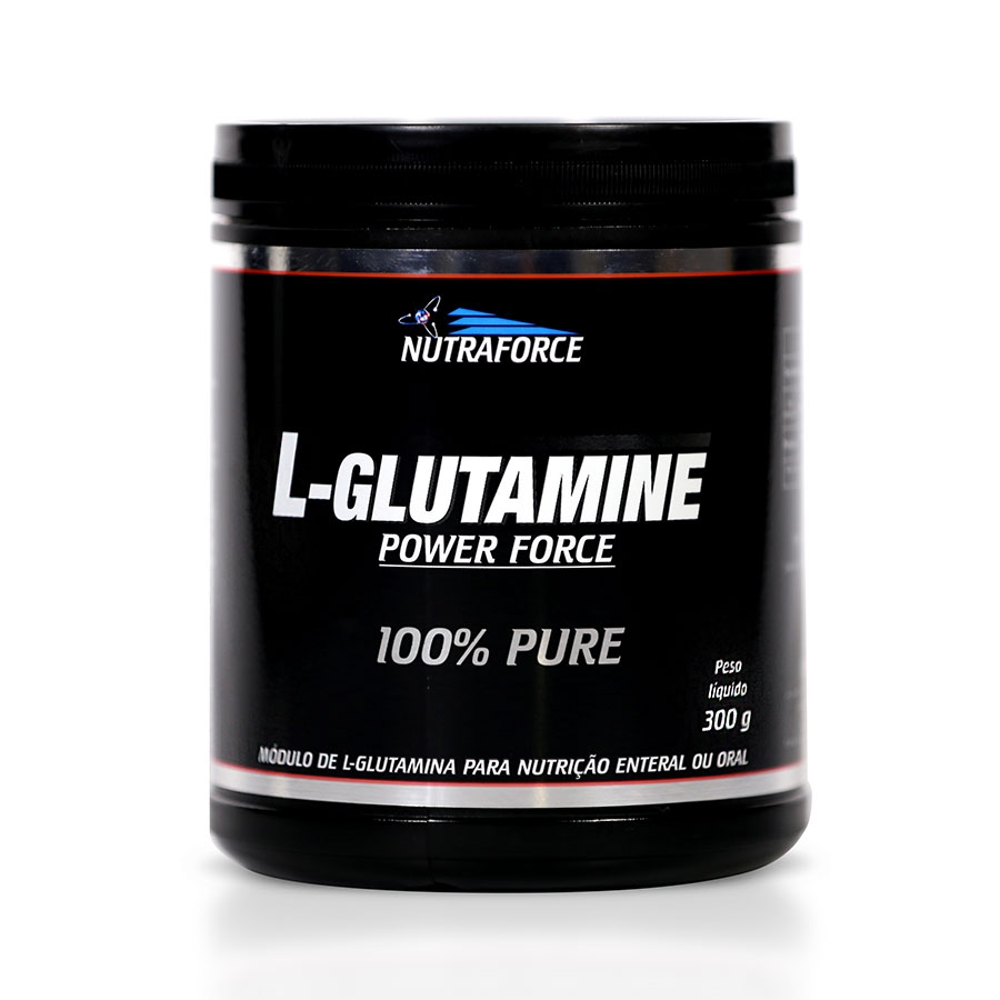 Glutamina Pura 300g - Nutraforce