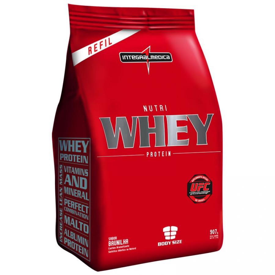 Nutri Whey Protein Refil 907g - Integralmédica