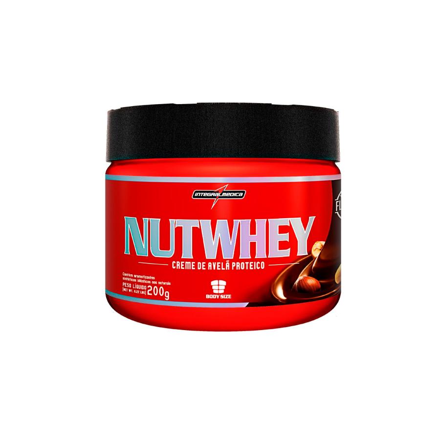 Nutwhey - Creme de Avelã Proteico 200g - Integralmédica