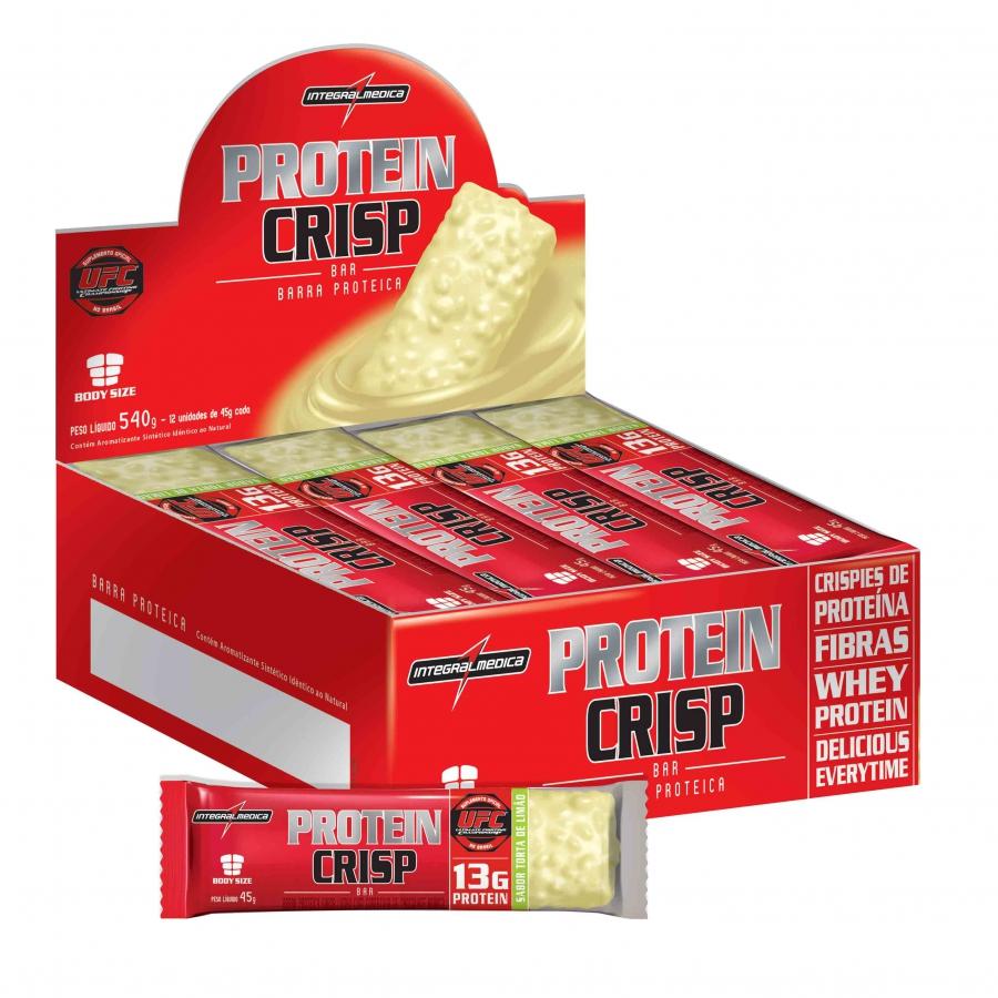 Protein Crisp Bar (Caixa com 12 unidades) - Integralmedica