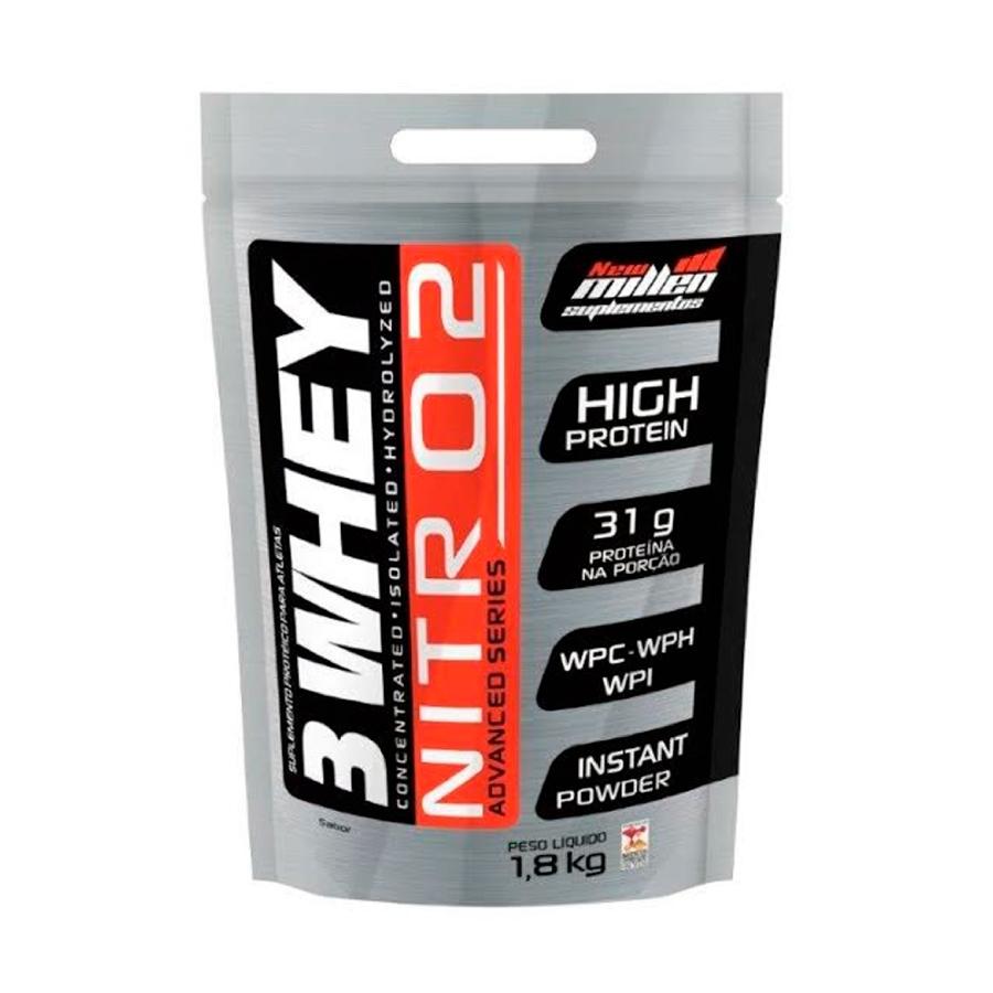 Whey 3W Nitro2 Refil 1,8Kg - New Millen