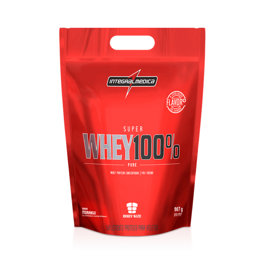 05ac18c0a Super Whey 100% Integralmédica