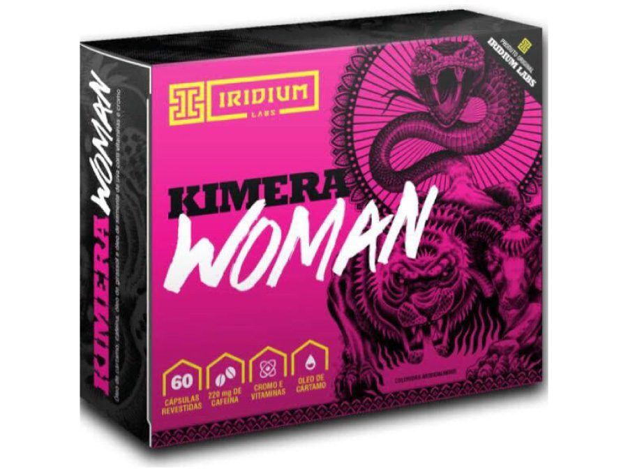 Kimera Woman 60 cápsulas – Iridium Labs