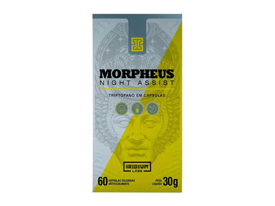 Morpheus Night Assist 60 cápsulas – Iridium Labs