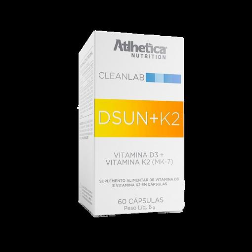 Dsnu + K2 Cleanlab 60 cápsulas Atlhetica Nutrition
