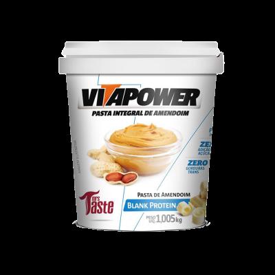 Pasta de Amendoim Blank Protein Vitapower