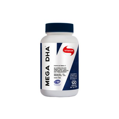 Mega Dha Omega 3 120 cápsulas Vitafor